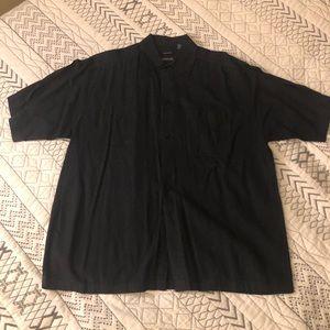 George short sleeve linen shirt